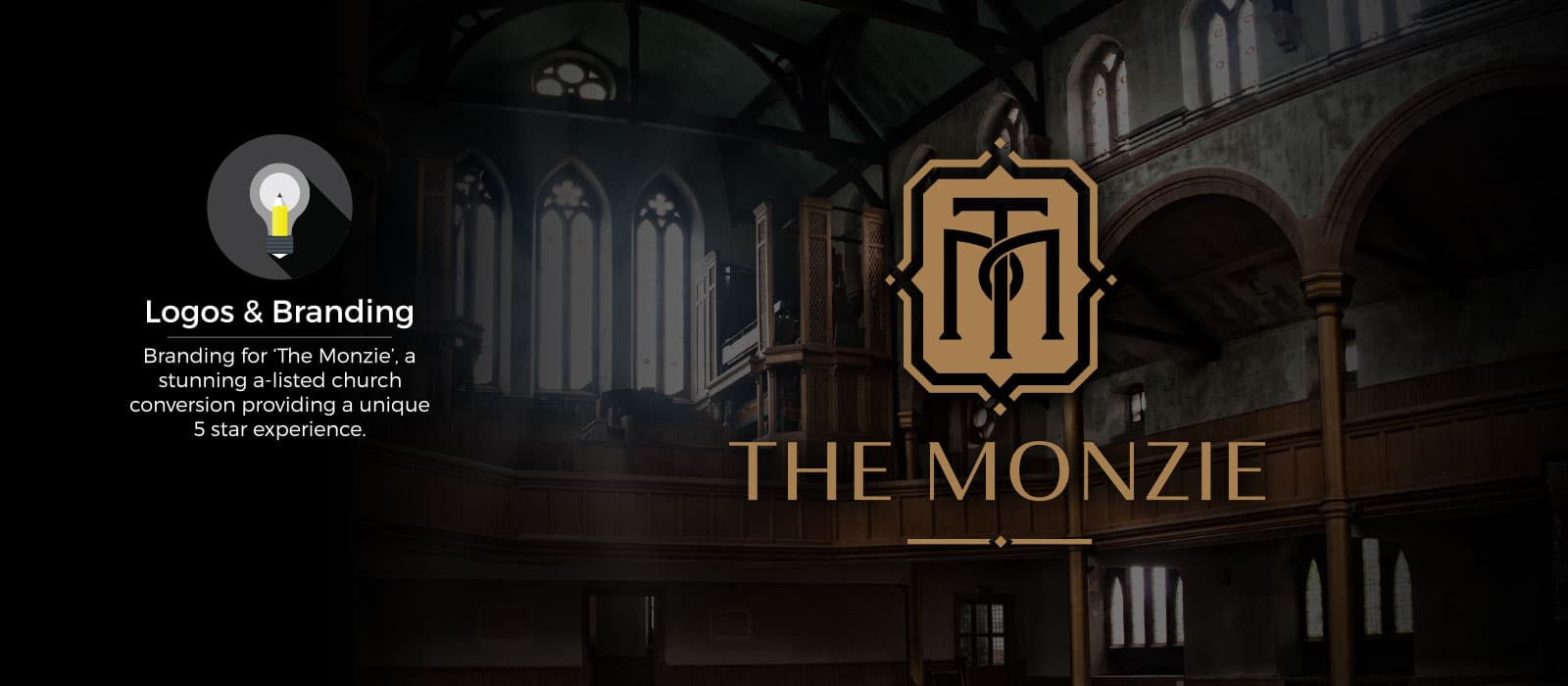 Logo and Branding Design for The Monzie by Mind's I Graphic Design
