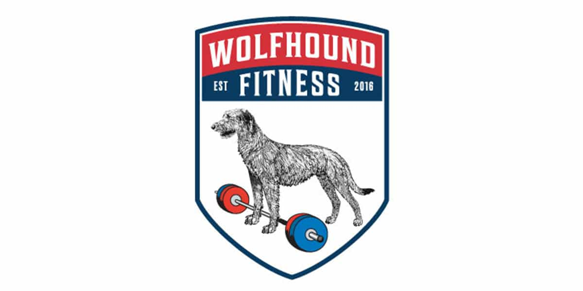 Wolfhound Fitness Logo Crest